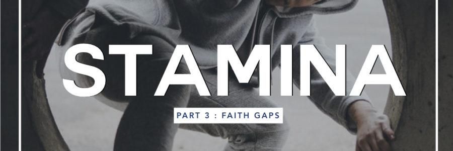 Stamina 3 : Faith Gaps 1